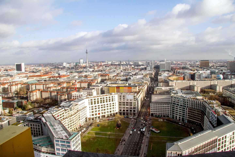 Berlin: Panoramapunkt - Ticket ohne Anstehen am Fahrstuhl