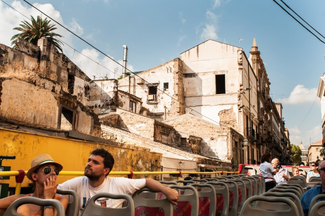 Palermo: 24-uurs ticket hop on, hop off-bus