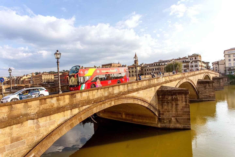 Florenz: Hop-On/Hop-Off-Ticket für 24, 48 oder 72 Stunden