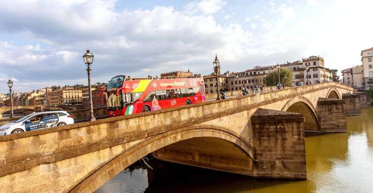 Autobús turístico de Florencia: ticket de 24, 48 o 72 horas