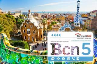 Barcellona: Barcelona Card, 25 attrazioni e mezzi pubblici