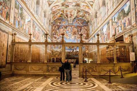 Vatikan: Sixtinische Kapelle & Museen am frühen Morgen