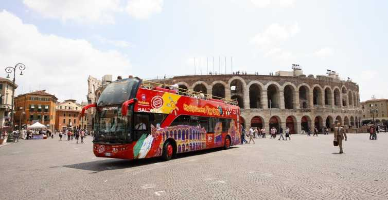 Verona: Hop-on Hop-off Tour 24 or 48-Hour Ticket