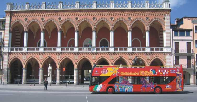 Padua Hop-on Hop-off Tour: 24 horas Ticket