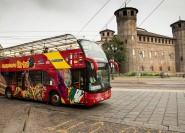 Turin: bus à arrêts multiples pour 24h ou 48h