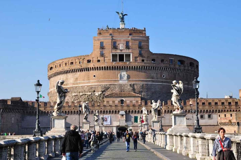 Rom: Tour zur Engelsburg und zum Petersplatz