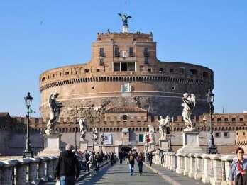 Rom: Führung zur Engelsburg und zum Petersplatz
