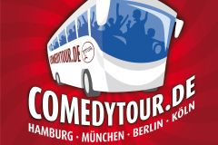 Frankfurt: Tour de comédia de 1,5 horas pela cidade