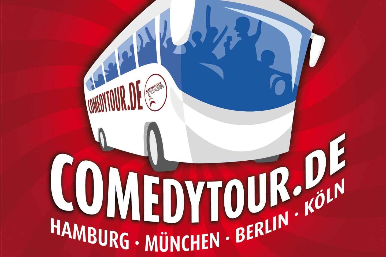 Frankfurt: Tour im Comedy-Bus auf Deutsch