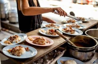 Kulinarische Tour in Bangkoks Altstadt (in kleiner Gruppe)