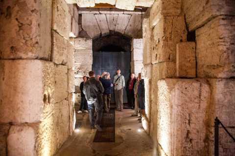Colosseums undre våning: Guidat besök och köföreträde