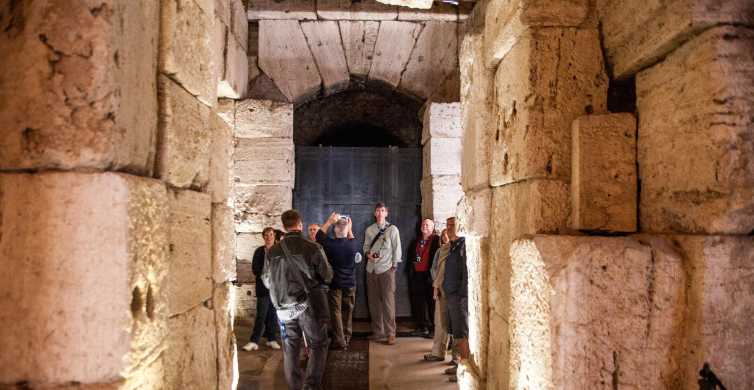 Colosseum Underground: Priority Access Guided Tour