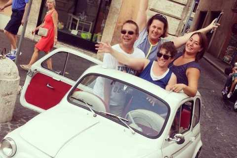 Rome Driving Tour By Vintage Fiat 500