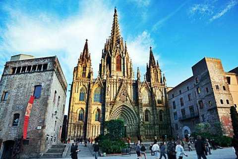 Barcelona: tour guiado con RV del Barrio Gótico y Picasso