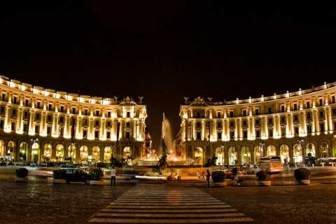 Rome: Private Golf Cart Tour by Night