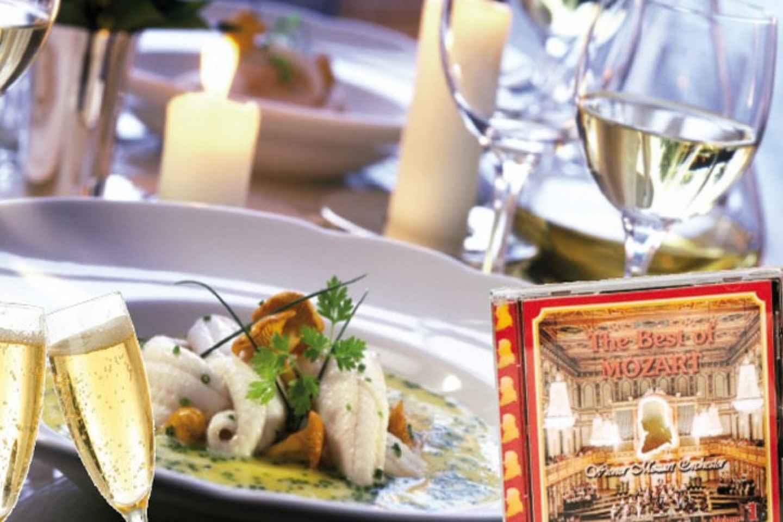 Mozart VIP-Ticket mit Dinner, Fiaker-Fahrt und Konzert