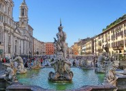 Ab Civitavecchia: Malerische Bustour durch Rom