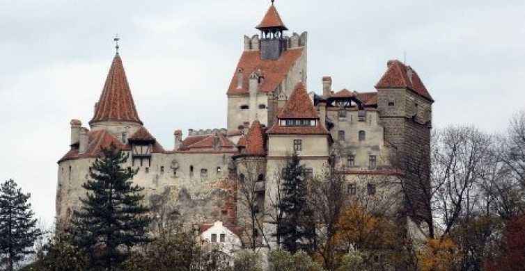 Desde Bucarest: Tour privado de un día por los castillos de Drácula y Peles
