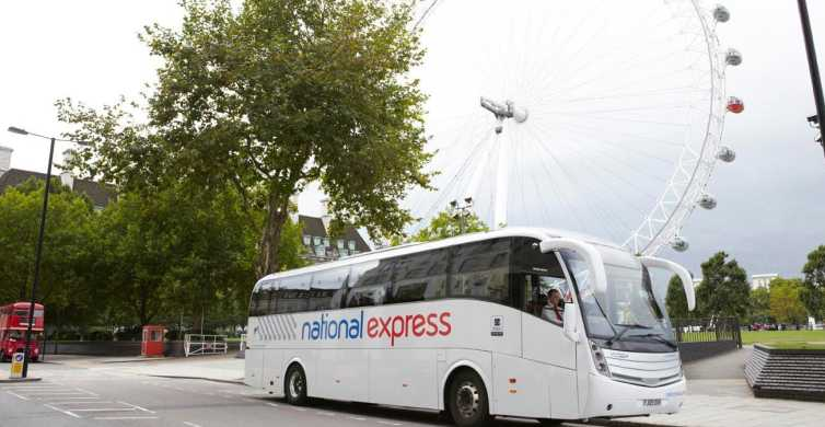 Luton Airport to Central London Bus Transfer
