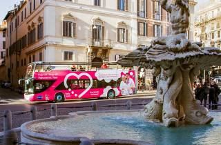 Rom: Sightseeing-Tour per Hop-On/Hop-Off-Bus
