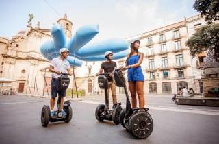 Barcelona: 3-stündige Segway-Tour