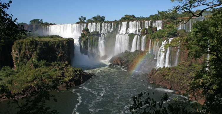 From Puerto Iguazu: Argentina & Brazil Sides of Iguazu Falls