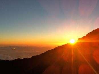 Teneriffa: Seilbahnfahrt auf den Teide bei Sonnenuntergang