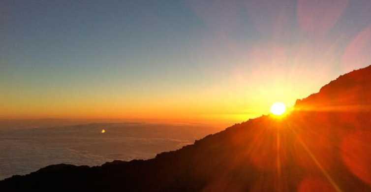 Tenerife: paseo en teleférico al anochecer por el Teide