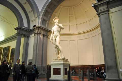 Florencia: Recorrido a pie, Galería de la Academia y Galería de los Uffizi