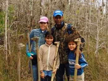 Everglades: 2 Stunden Privat geführte Wanderung