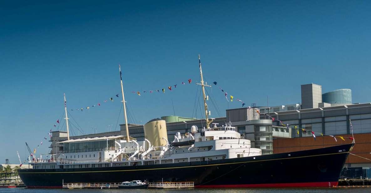 Édimbourg: billet pour le yacht royal Britannia