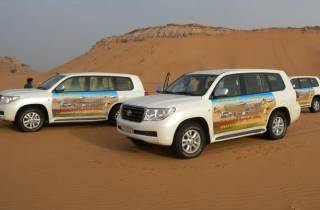Dubai: Wüstensafari mit VIP-Service