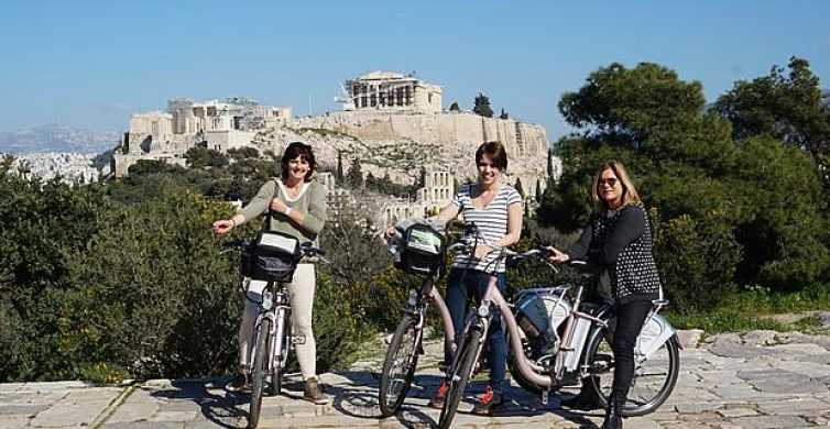 Historic Athens: Small Group Electric Bike Tour