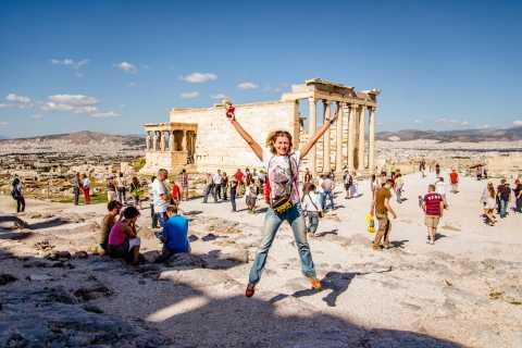 Athene: Hoogtepuntenwandeltocht zonder toegangskaarten