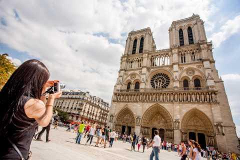 Paris: Excursão Turística em Micro-Ônibus de Luxo
