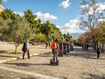 Akropolis in Athen: 2 Stunden Segwaytour