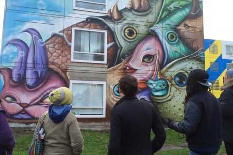 Amsterdam: street art-tour van 2 uur