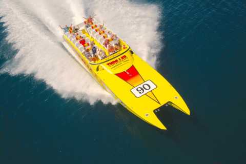 Miami: Small Group City Tour with Speedboat and Van