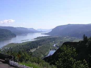 Ab Portland: Halbtagestour Multnomah Falls & Columbia River
