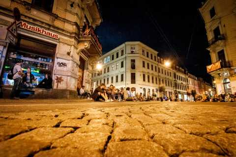 Dresden's Neustadt by Night: Subculture and Pubs