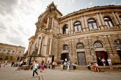 Dresden: Bilhetes Ópera Semper e Tour de 45 Minutos