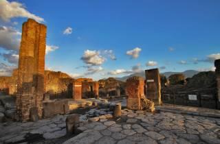 Hin- und Rücktransfers mit der Limousine: Rom ─ Pompeji