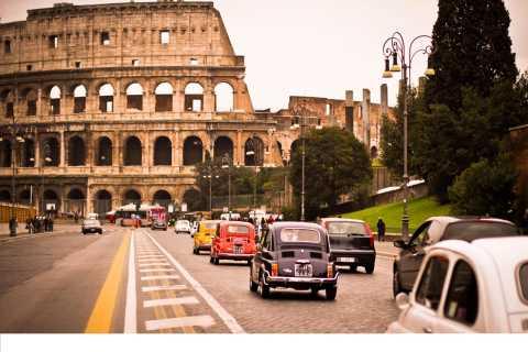 Rome: 3-Hour City Tour by Vintage Fiat 500