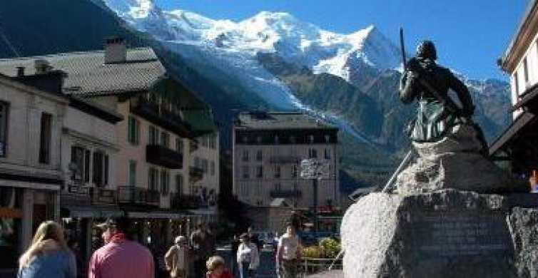 Excursión turística independiente a Chamonix-Mont Blanc desde Ginebra