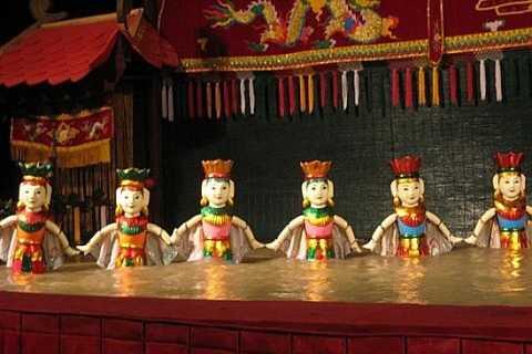 Hanoi: Street Food Walking Tour & Water Puppet Show