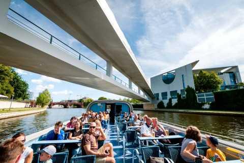 Berlin: 3,5-stündige Bootsfahrt auf Landwehrkanal und Spree