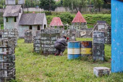 Prague: 4-Hour Paintball Activity with Transfers
