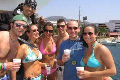 Acapulco: cruzeiro de barco à tarde