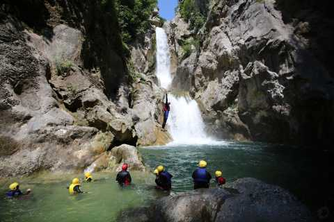 From Split: Canyoning on the Cetina River