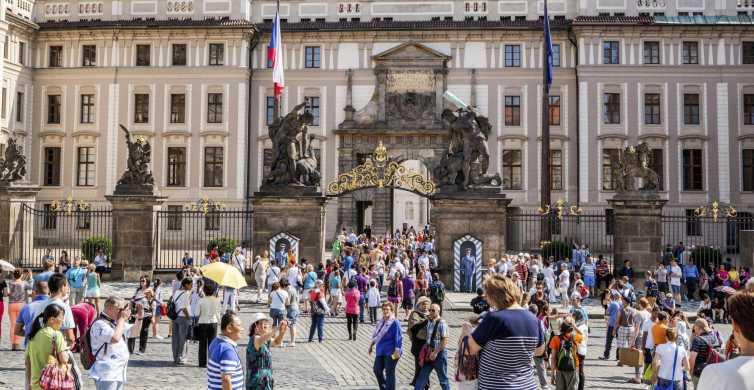 Château de Prague: billet d'entrée et introduction